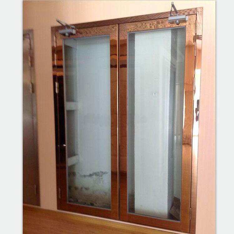 GFM BFM钢 不锈钢防火玻璃门